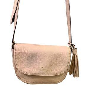 Kate Spade crossbody bag in light pink/blush